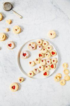blood orange curd linzer cookie recipe hummingbird high