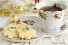 These melt-in-the-mouth Scotch Cookies have a delectable buttery flavor and tender light crumb. Scotch Cookies are a Christmas must-have in many PEI households. Bistro Kitchen, Bistro Food, The Bistro, No Flour Cookies, Home Brewing Beer, Scotch Whiskey, Irish Whiskey, Oven Racks, Salted Butter