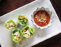 Thajské letní salátové závitky PA PIA SOD - Ochutnejte svět Massaman Curry, Tacos, Good Food, Mexican, Ethnic Recipes, Health, Blog, Asia, Fine Dining
