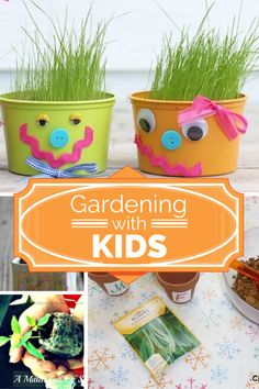 Great Tips for Gardening With Kids via @acraftyspoonful