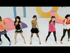 Wonder Girls - Tell Me    I first saw this when Cha Dae Joo was on Star King, and he did the dance. From there, I eventually found the video!