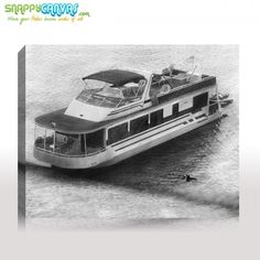 A pencil sketch photo for your wall by snappy canvas.