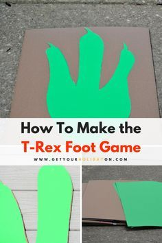 The Hilarious TREX game is here! If you are a fan of the Jurassic Park movies or if your kids love dinosaurs. You'll want to see this game! Birthday Party At Park, Dinosaur Birthday Party, Birthday Party Games, Birthday Ideas, 5th Birthday, Pirate Birthday, Dinosaur Party Games, Kids Party Games, Dinosaur Dinosaur