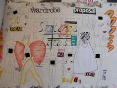 Fashion Sketchbook Pages by Hungry Norton, via Flickr