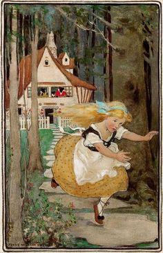 Goldilocks and the Three Bears - Jessie Willcox Smith