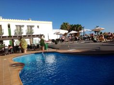 A beautiful June day at the Nerja Club Hotel
