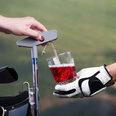 putter drink caddy