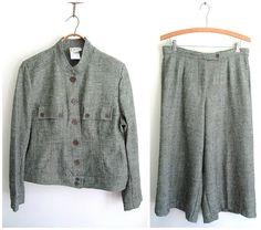 vintage gaucho pant suit #etsysellsvintage