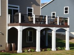 Decks in Carver MN Low maintenance decking and railing MN