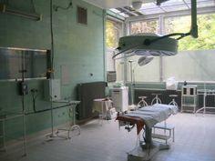 operatie kamer à la de operatiekamers die ik aantrof in 1976 in het Bergwegziekenhuis te Rotterdam