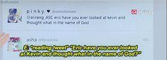 omg yes xD <3 Kevin Woo  Eric Nam - asc