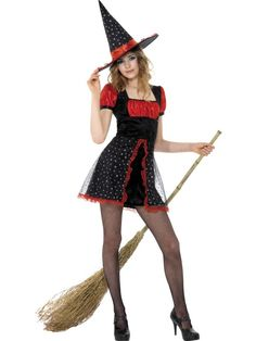 Teen Star Witch Costume at funnfrolic.co.uk - £17.98