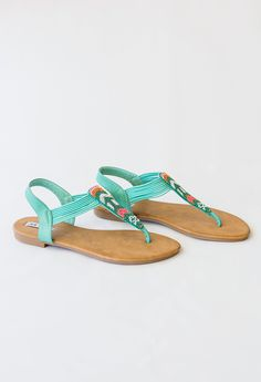 53725f31cf4188 Beautiful Things Sandals - beaded sandals Spring Shoes