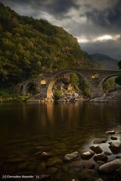 Дяволския мост на река Арда, България / Devil's Bridge over the Arda River, Bulgaria