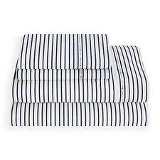 Tommy Hilfiger Signature 200 Thread Count Stripe Print Sheet Set