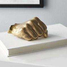 golden fist (hand) CB2