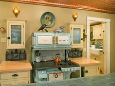 House of Turquoise: Turquoise Appliances