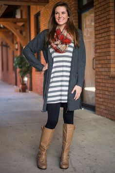 Zip On By Cardigan, Gray