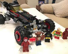 Tras más de 3 horas montado! #lego #batman #batmobil