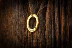 Go for gold with a solid 9 carat gold LoveLoop worn straight over our 9 carat gold LoveLoops chain. Wear your love with LoveLoops. Going For Gold, Gold Necklace, Pendant Necklace, Carat Gold, Custom Engraving, Personalized Jewelry, Take That, Horse
