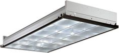 """Lithonia Lighting 2PM3N G B 3 32 18LD MVOLT 1/3 GEB10IS 3 Light 48"""" Fluorescent Silver Commercial Lighting Ceiling Lights Troffers"""