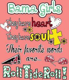 Bama Girls!