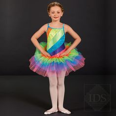 IDS: International Dance Supplies Ltd - more than just a dancewear company … ™ My Rainbow Bright Tutu designed for IDS- best seller!