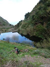 Hike down to Hermigua from Garajonay National Park, La Gomera, Canary Islands