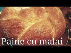 Paine cu malai-reteta veche si buna #148 - YouTube I Foods, Bread Recipes, The Creator, Youtube, Gourmet, Sweet, Bakery Recipes, Youtubers