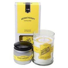 Aromatherapy Choose Happiness Candle Collection