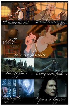 Harry Potter + Disney. It's my life! That's me!!!