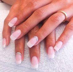 Acrylic prom nails