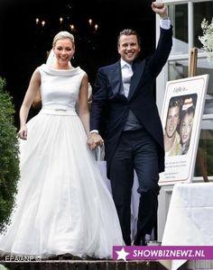 Claes' Iversen wedding dress for Renate Verbaan