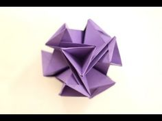 ▶ How to make a Kusudama Void (Origami Ball) - YouTube