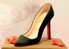 Christian Louboutin Pigalle Shoe Box Cake! ❤