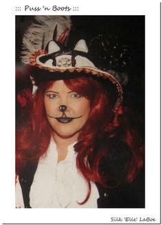 Booted Cat ::: Silken Steampunk