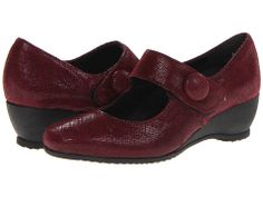 Munro American Jenna Deep Wine Crosshatch - Zappos.com Free Shipping BOTH Ways