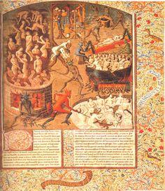 Visión del infierno por San Agustín, La ciudad de Dios (413-426), el ataque (que había de tener considerable impacto histórico) a la jactancia de los paganos, que pretendían ser los poseedores de una valiosa cultura independiente.