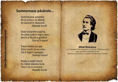 somnoroase pasarele my favorite romanian poem