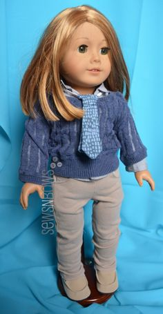 School Uniforms for American Girl Dolls | Pattern Sources and Sewing Tips