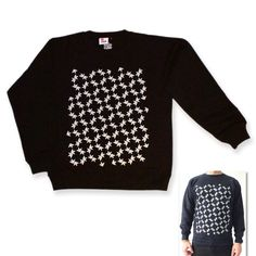 Men s crew neck jumper Printed design on front Made from 50 cotton 50 polyester Wash at 30 Do not tumble dry Iron on the inside Size Chest Length Flocking, Sheep, Love Fashion, Print Design, Indie, Graphic Sweatshirt, Boutique, Sweatshirts, Sweaters