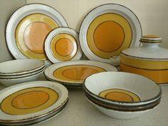 WEDGWOOD VINTAGE MID CENTURY STONEHENGE MIDWINTER SUN TABLEWARE COLLECTION