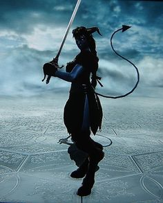 Victorian Tiefling. Made using Creation mode in Soul Calibur 5