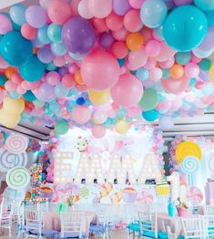 Balloon Ceiling Balloon /& Tassel Decorations Party Accessories