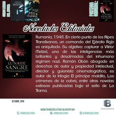 """""""Luna de Sangre"""" de Ramón Obón"""