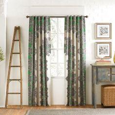 KAS® Frenti 84-Inch Window Panel Pair - BedBathandBeyond.com...dining nook drapes