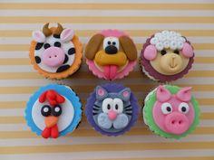 cupcakes animales por Cupcakes: Magdalenas Historiadas