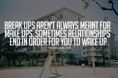 I mean...wake up.