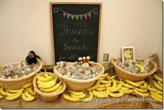 Funny Banana Breakfast for Teachers - cute idea with more on the website for back to school gifts for teachers