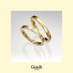 Argollas de matrimonio en Oro 18k planas Ring Ring, Gold Wedding Rings, Gold Rings, Jack Skellington, Wedding Favors, 18k Gold, Rose Gold, Flats, Engagement Rings